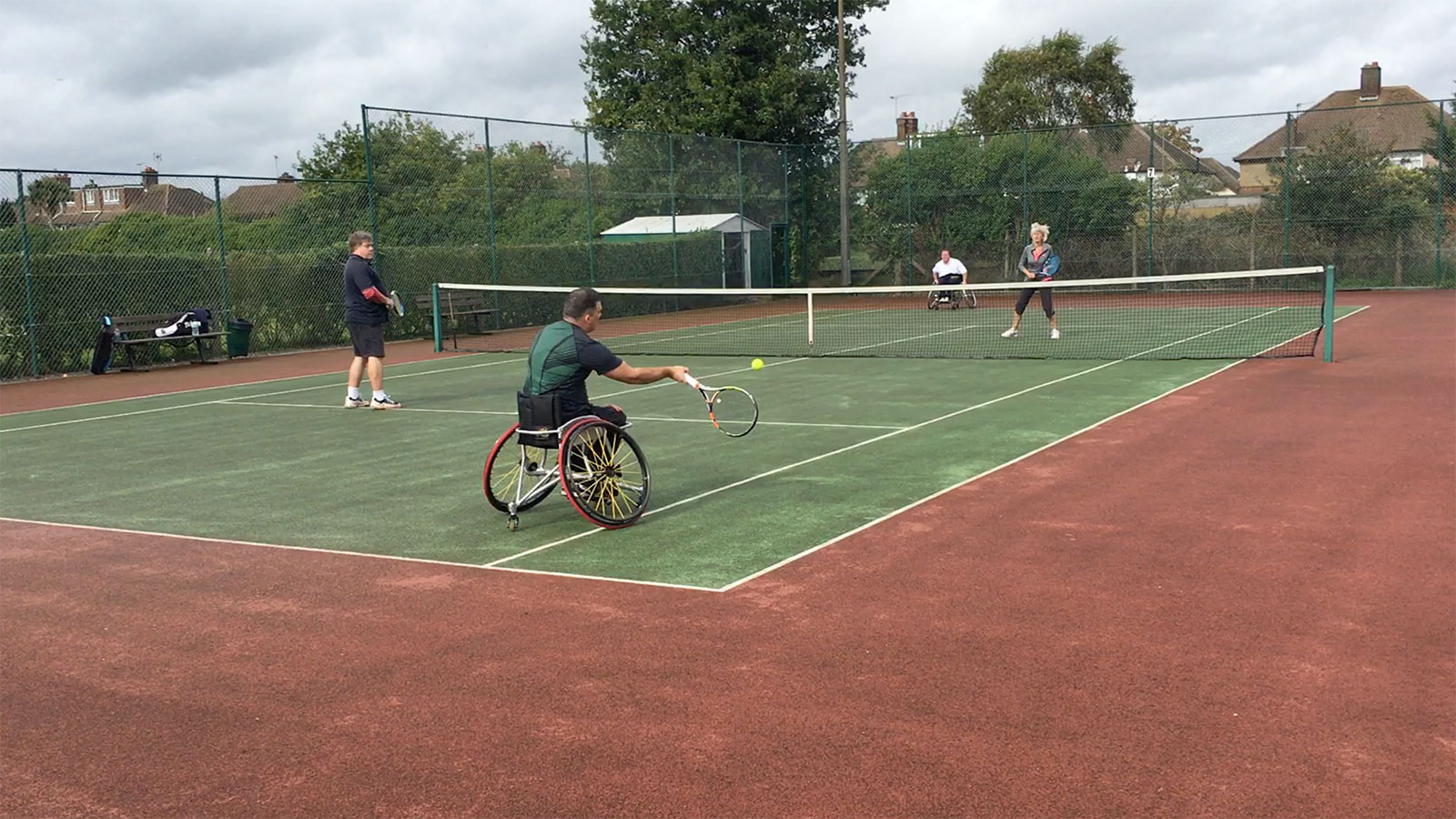 Wheelchair Tennis Tournament