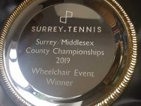 Wheelchair Tournament Success For Noel From Ashford Tennis Club